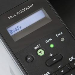 Brother HL-L6200DW Wireless Monochrome Laser Printer with Duplex Printing